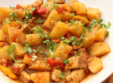 bramborový guláš